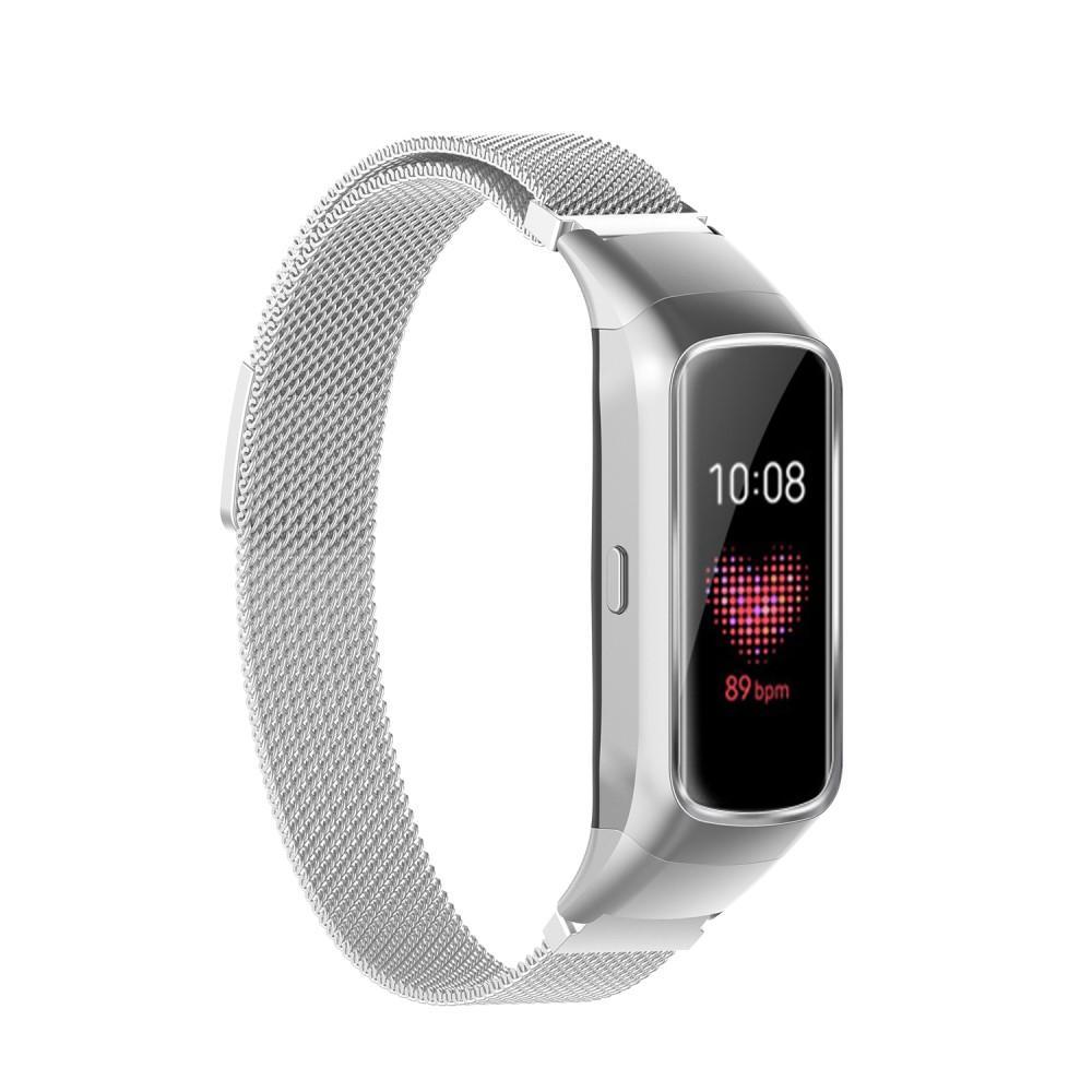 Armband Milanese Samsung Galaxy Fit silver