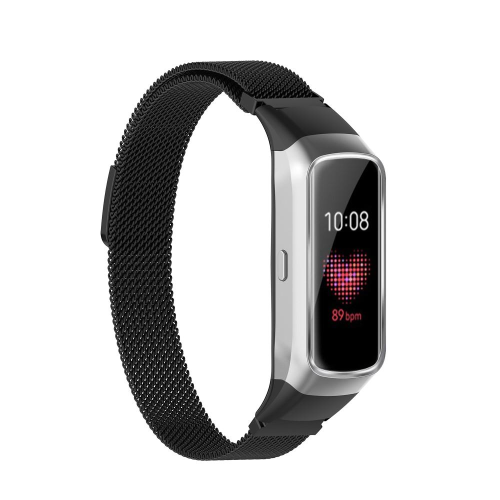 Armband Milanese Samsung Galaxy Fit svart