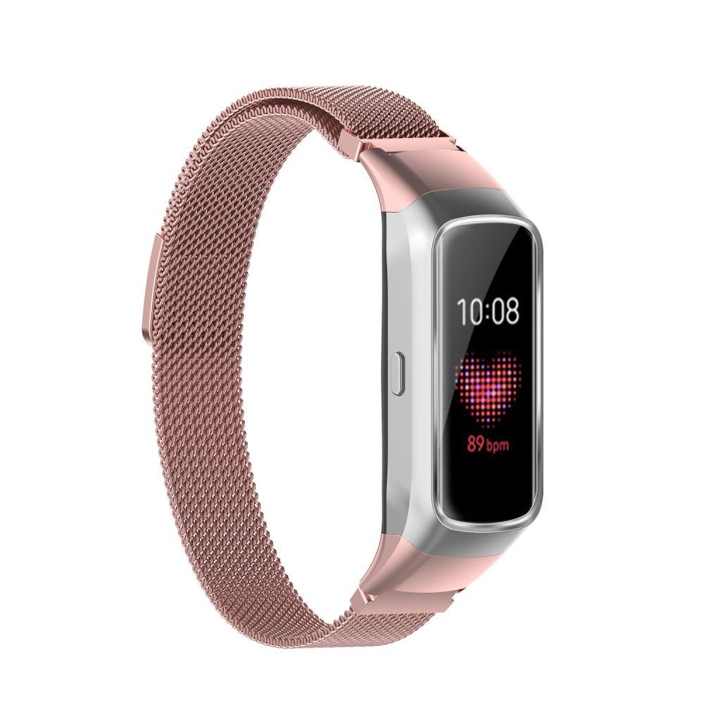 Armband Milanese Samsung Galaxy Fit rosa guld