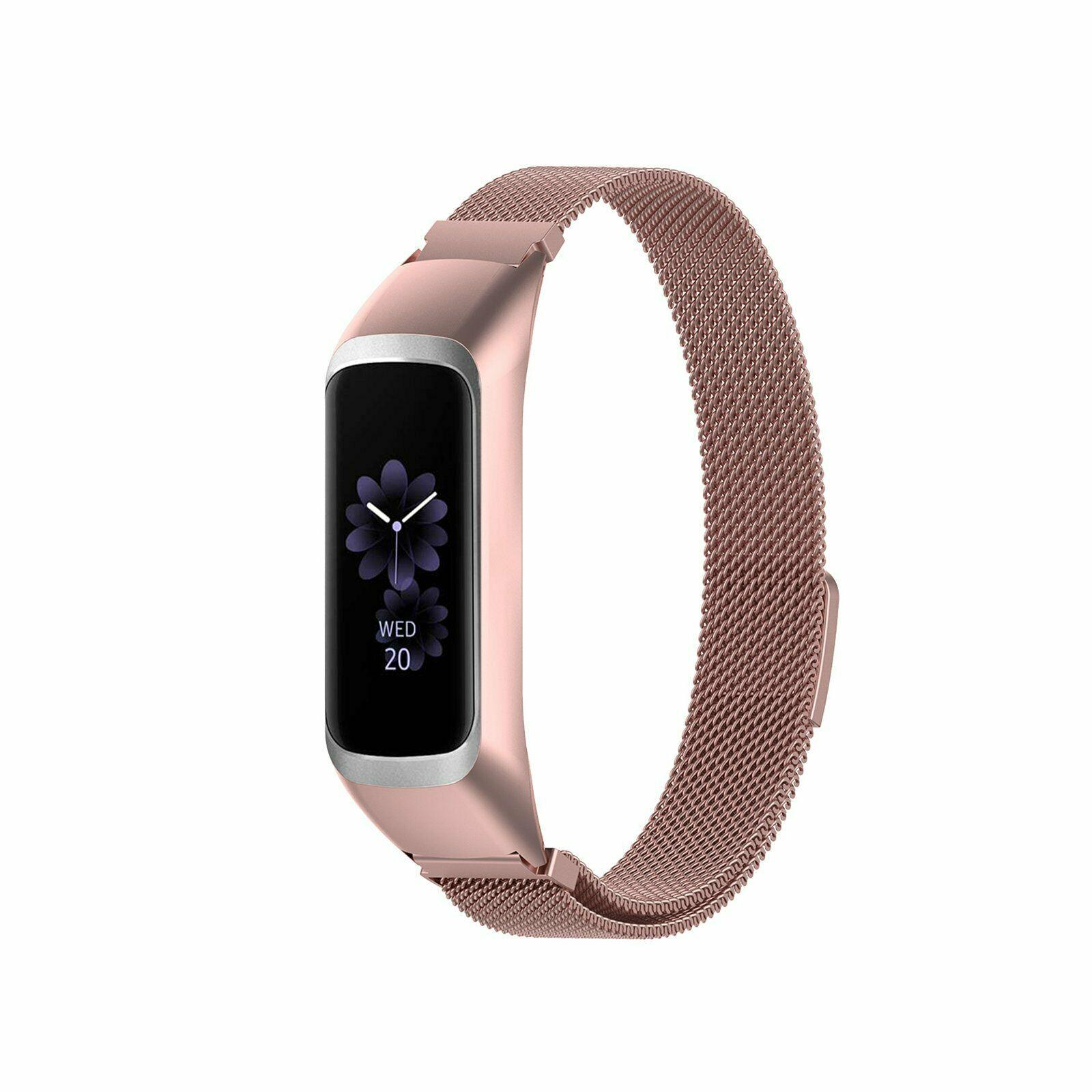 Armband Milanese Samsung Galaxy Fit E roséguld
