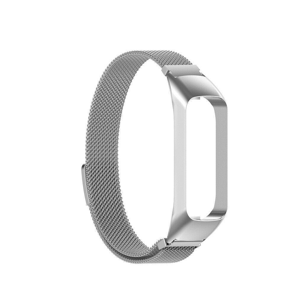 Armband Milanese Samsung Galaxy Fit E silver