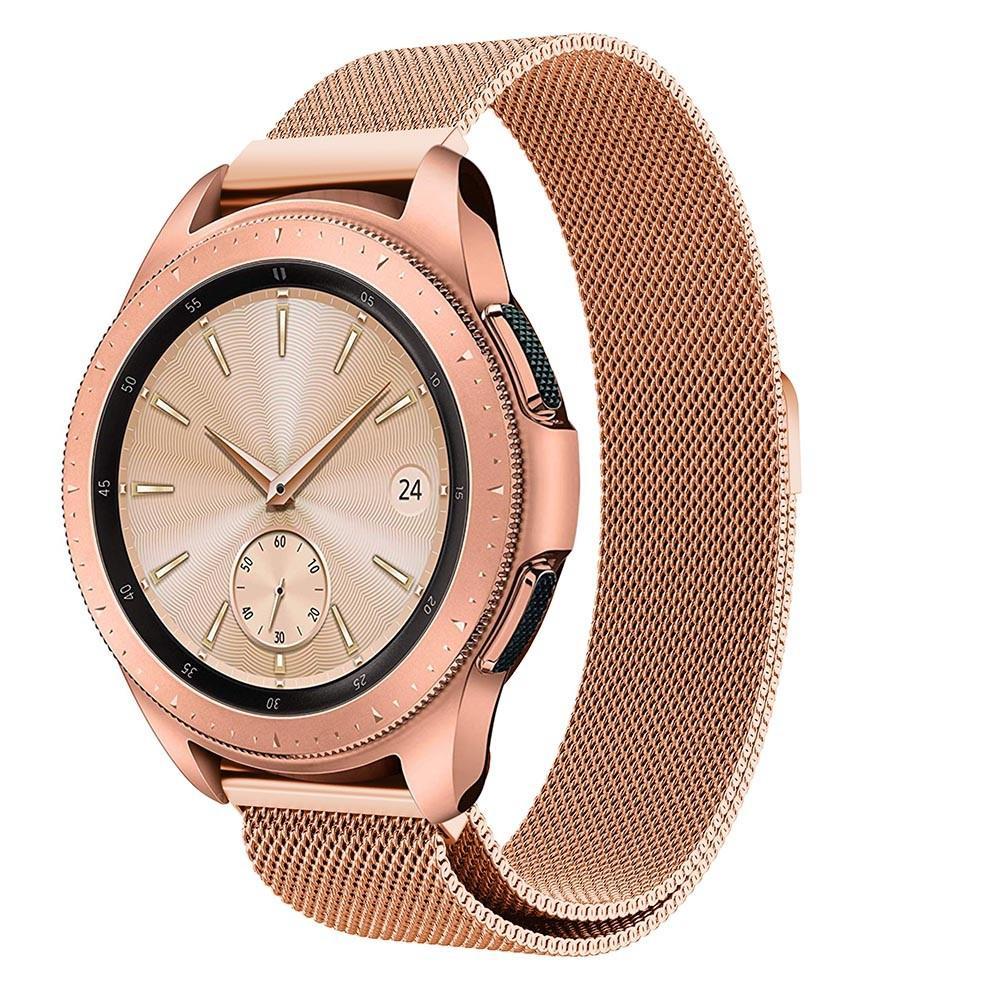 Armband Milanese Samsung Galaxy Watch 42mm roséguld