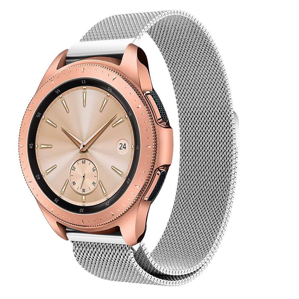 Armband Milanese Samsung Galaxy Watch 42mm silver