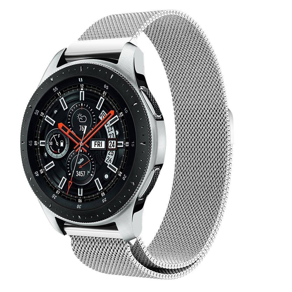 Armband Milanese Samsung Galaxy Watch 46mm silver