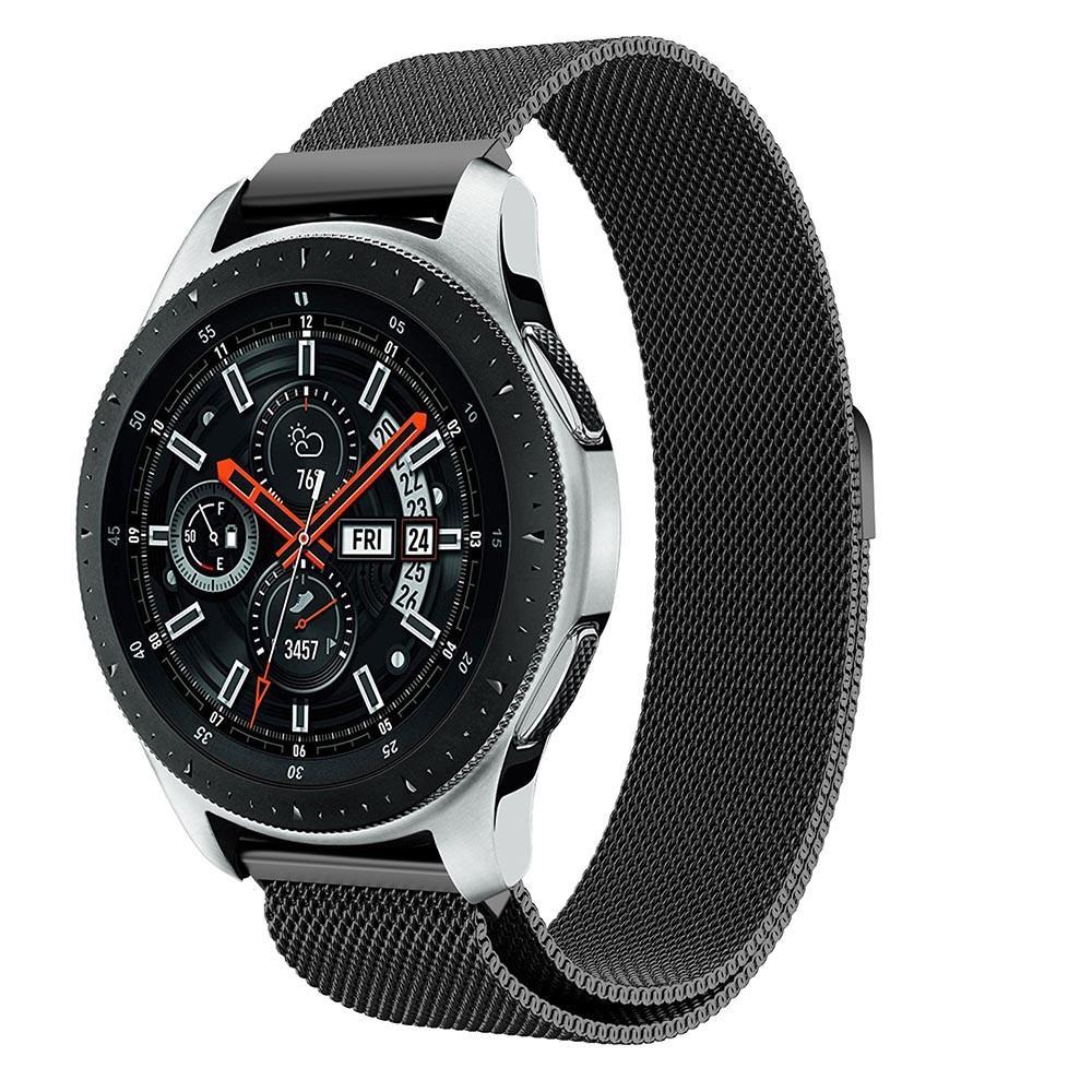 Armband Milanese Samsung Galaxy Watch 46mm svart