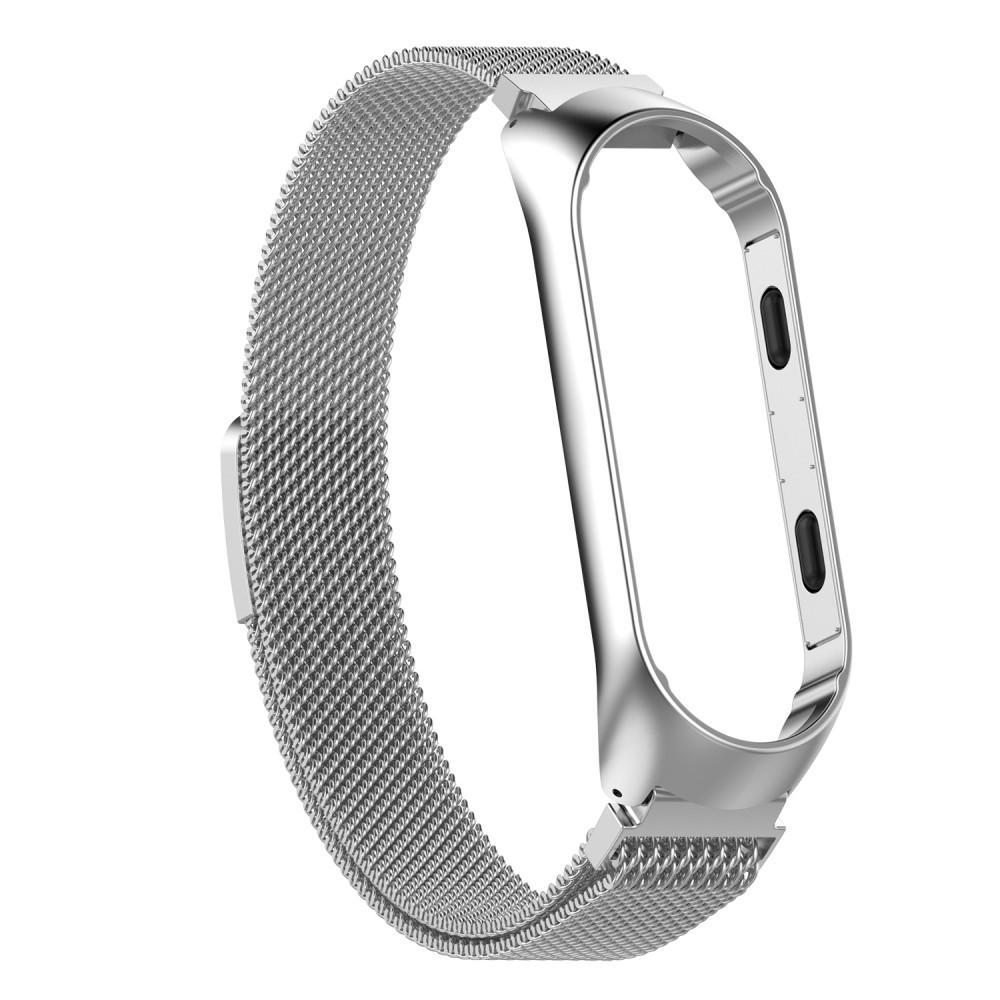 Armband Milanese Xiaomi Mi Band 3/4 silver