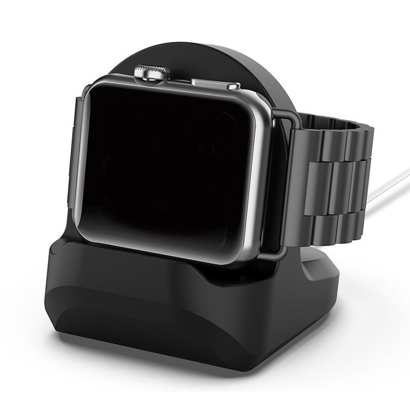 Bordsställ Apple Watch svart