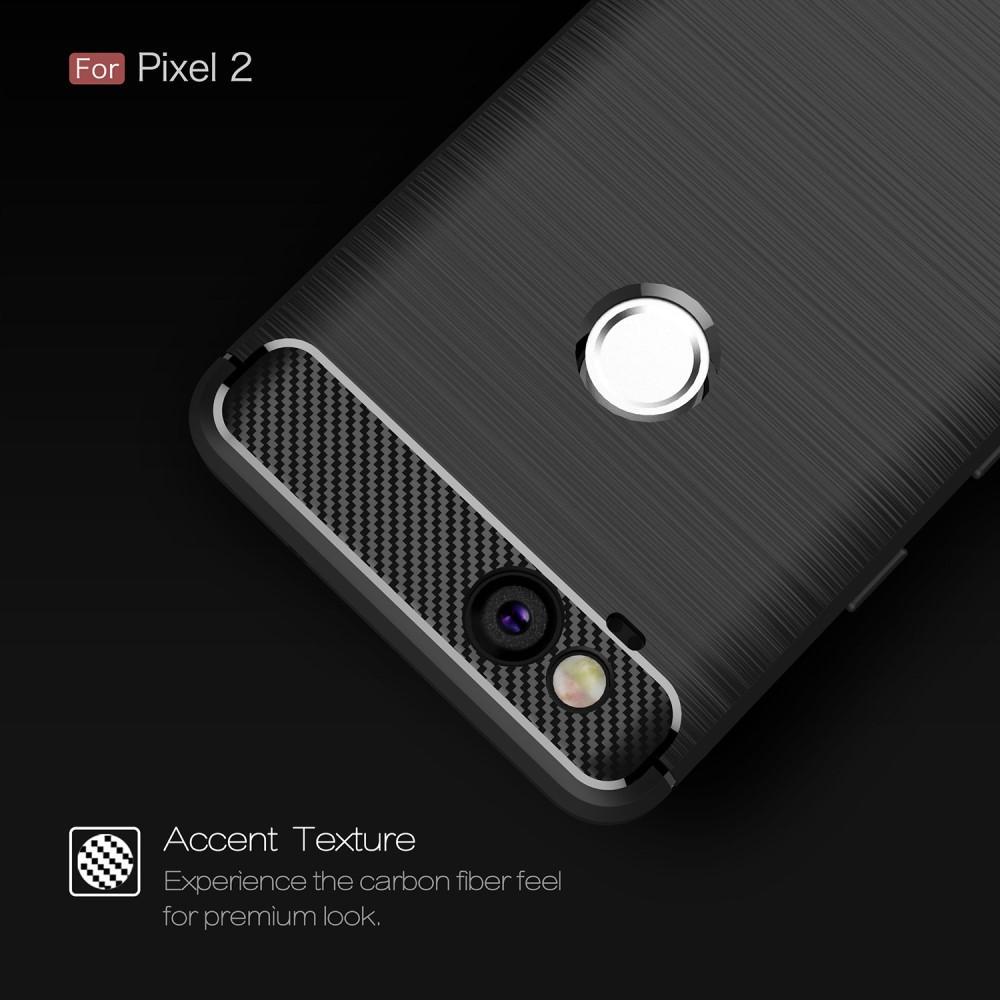 Brushed TPU Case for Google Pixel 2 black