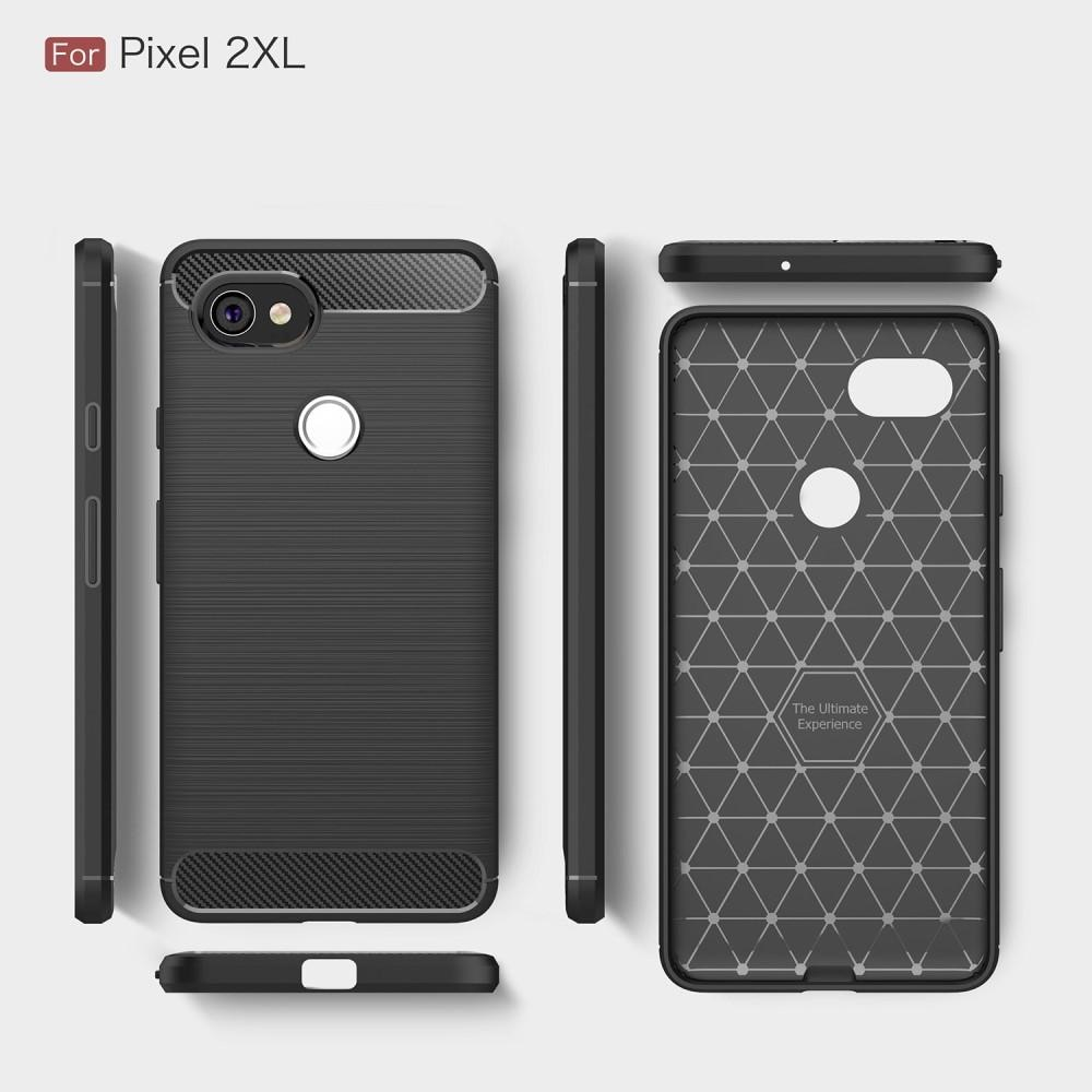 Brushed TPU Case for Google Pixel 2 XL black