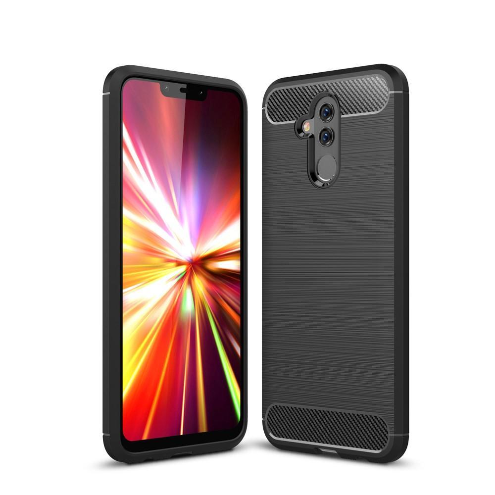Brushed TPU Case for Huawei Mate 20 Lite black