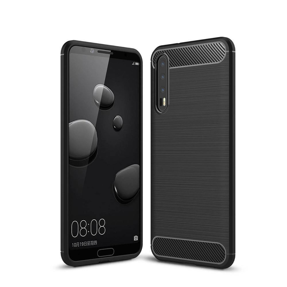 Brushed TPU Case for Huawei P20 Pro black