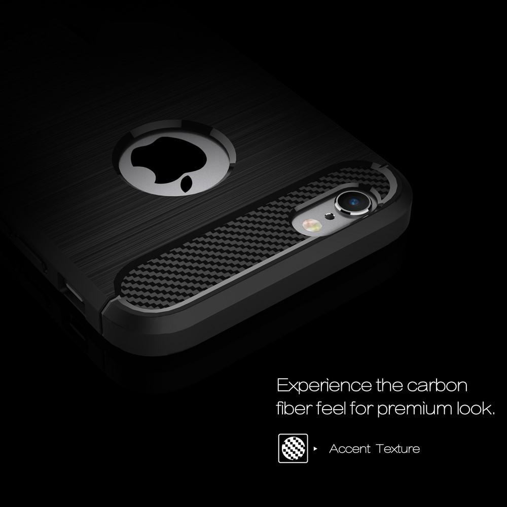 Brushed TPU Case for iPhone 6 Plus/6S Plus black
