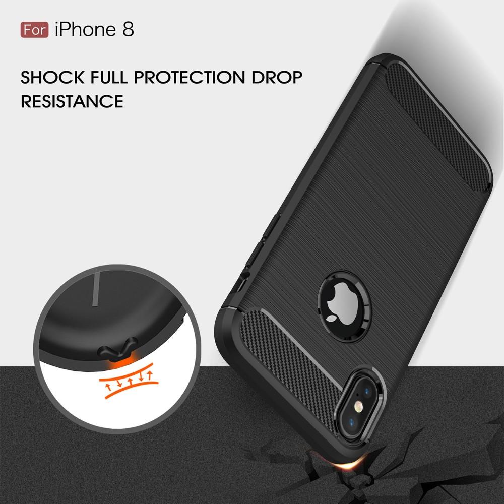 Brushed TPU Case for iPhone X/XS black