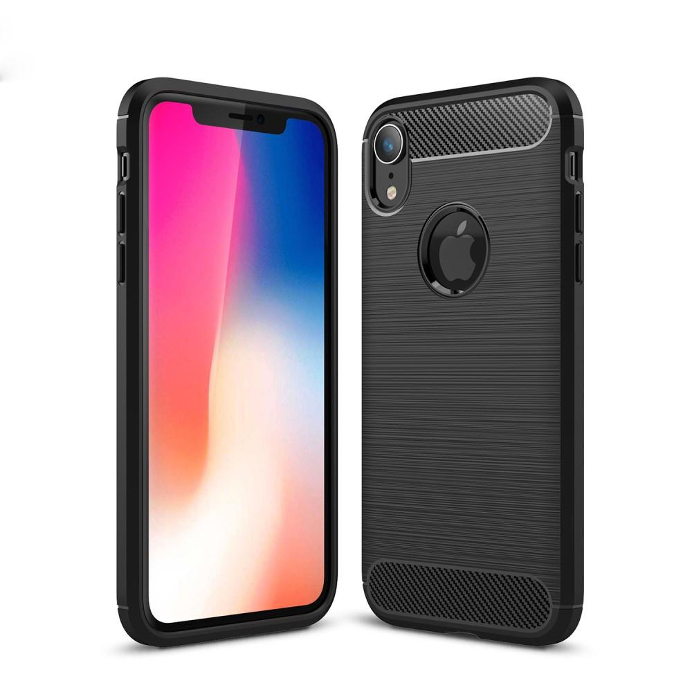 Brushed TPU Case for iPhone XR black