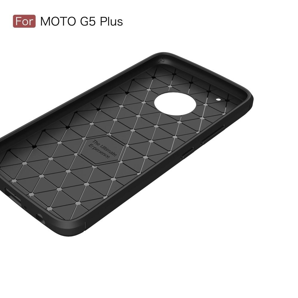 Brushed TPU Case for Lenovo Moto G5 Plus black