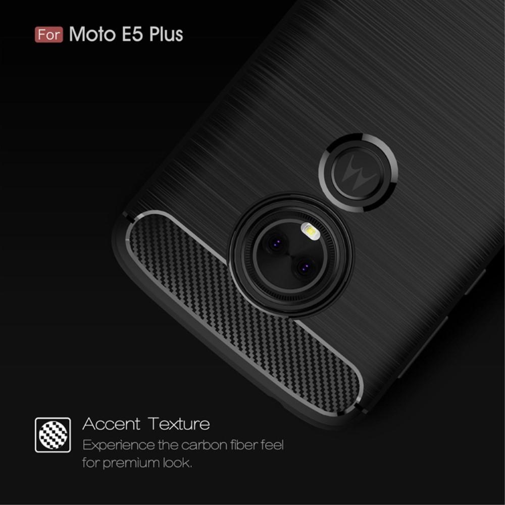 Brushed TPU Case for Moto E5 Plus black