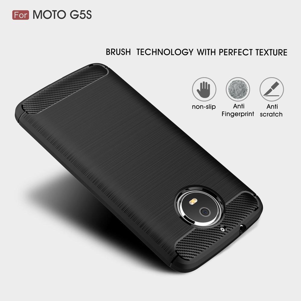 Brushed TPU Case for Moto G5S black
