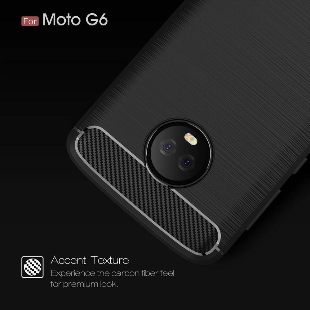 Brushed TPU Case for Moto G6 black