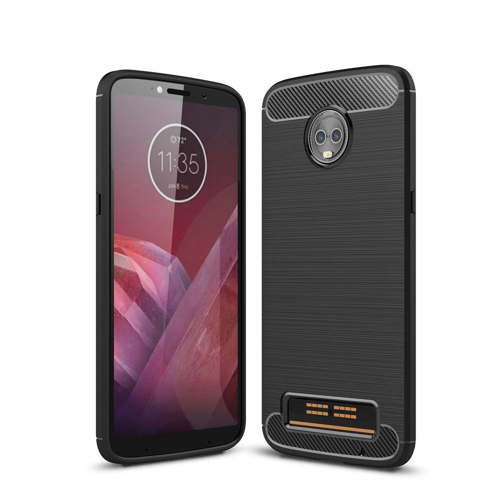 Brushed TPU Case for Moto Z3 Play black