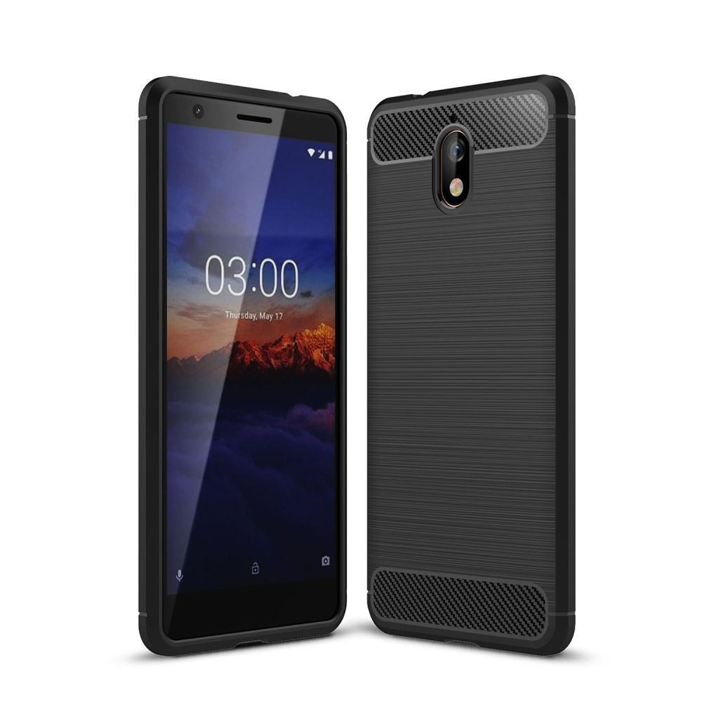 Brushed TPU Case for Nokia 3.1 black