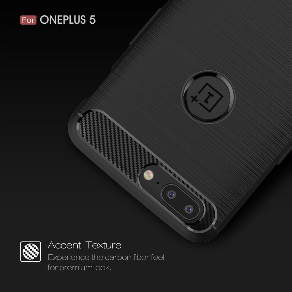 Brushed TPU Case for OnePlus 5 black