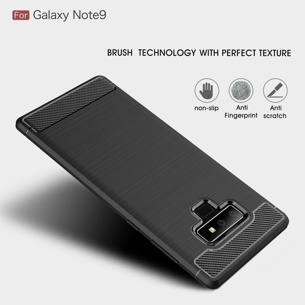 Brushed TPU Case Samsung Galaxy Note 9 black
