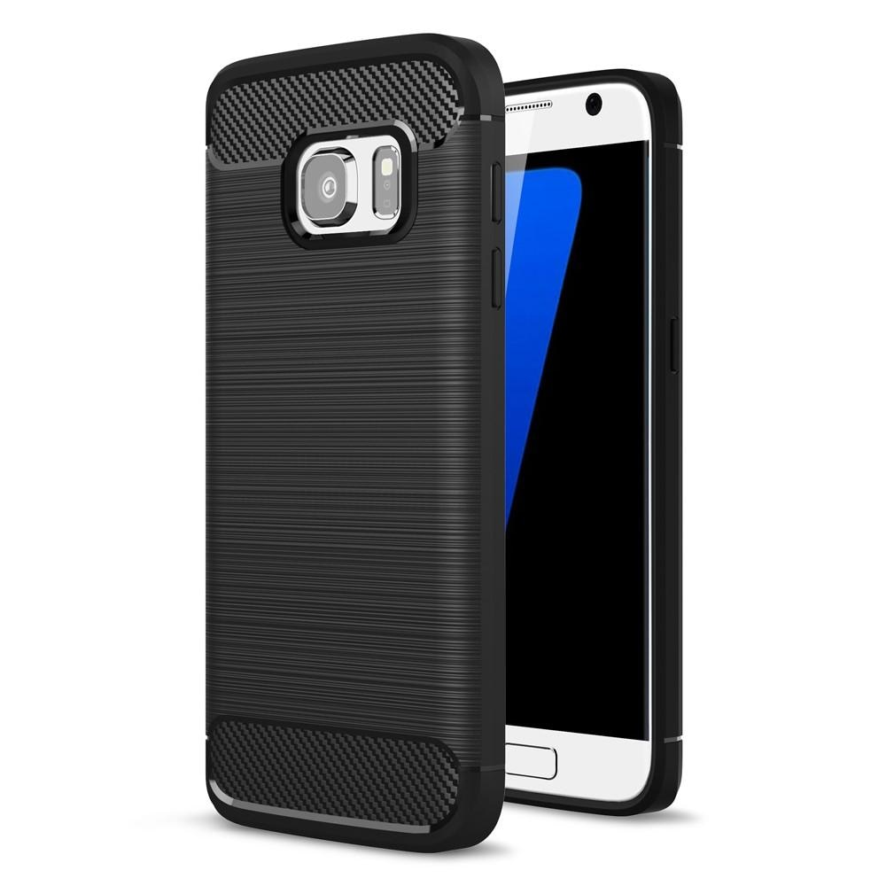 Brushed TPU Case for Samsung Galaxy S7 black