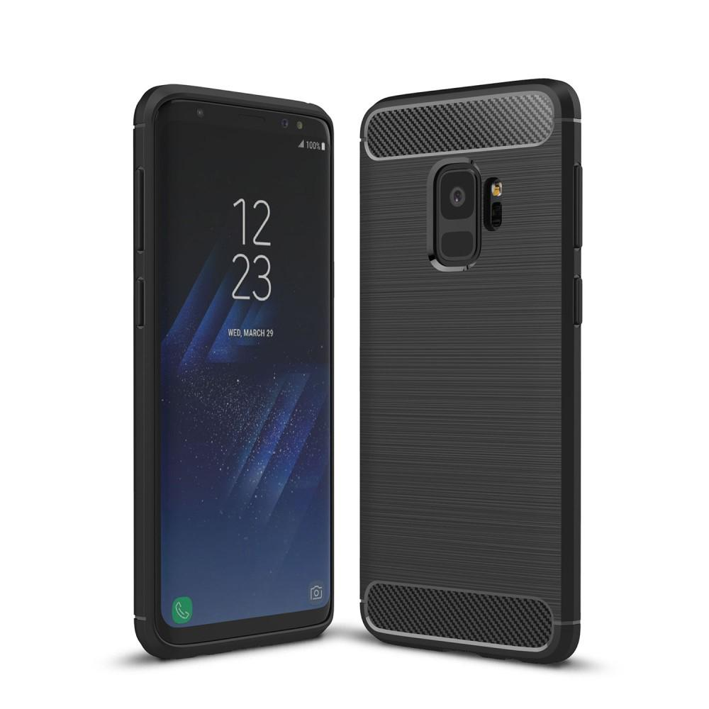 Brushed TPU Case for Samsung Galaxy S9 black