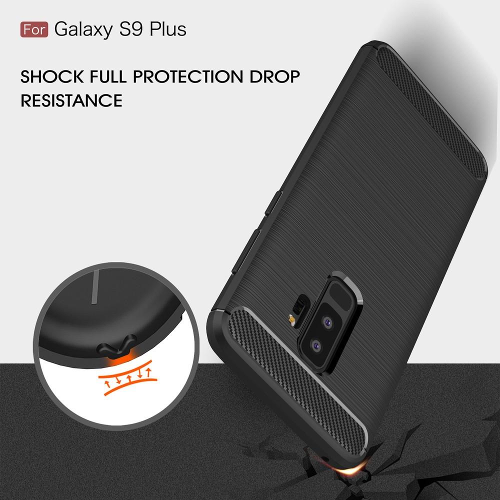 Brushed TPU Case Samsung Galaxy S9 Plus black