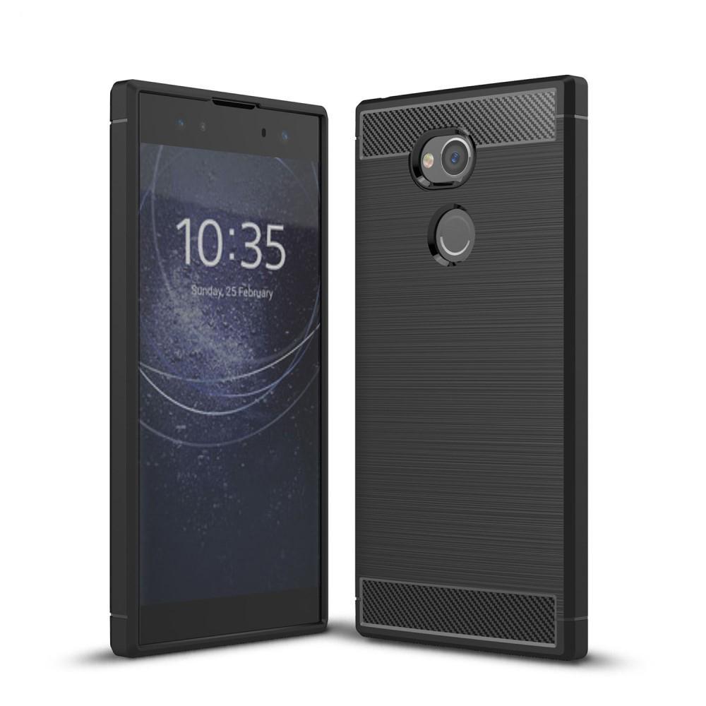 Brushed TPU Case for Sony Xperia XA2 Ultra black
