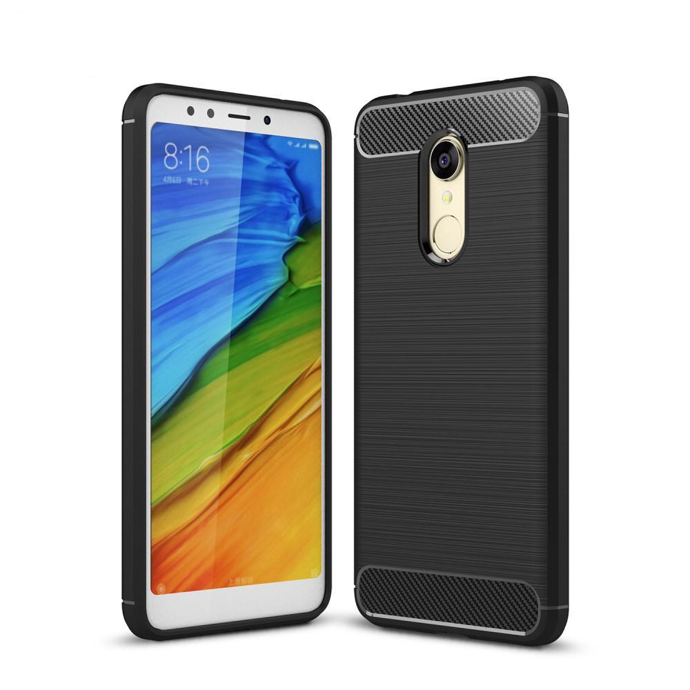 Brushed TPU Case for Xiaomi Redmi 5 black