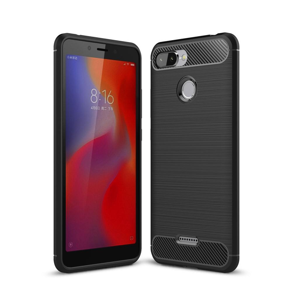 Brushed TPU Case for Xiaomi Redmi 6 black