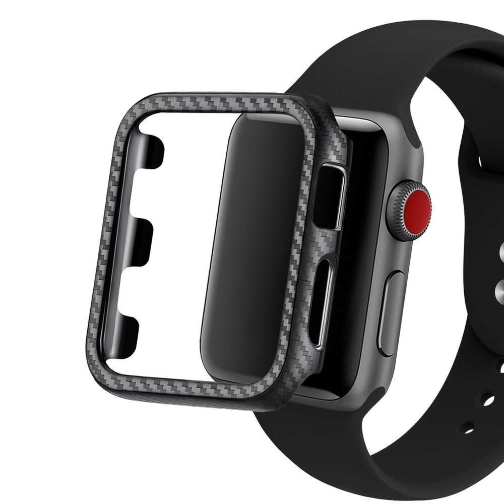 Carbon Case Apple Watch 44mm Black