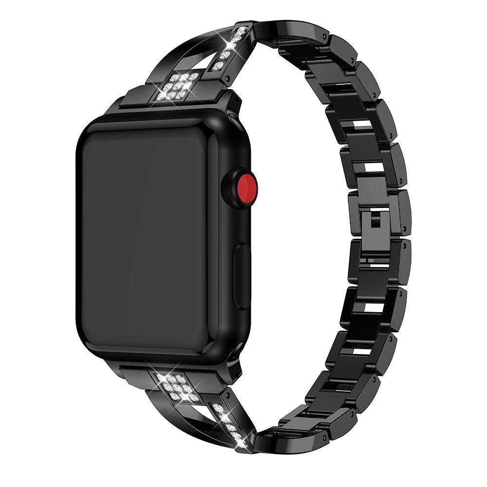 Crystal Bracelet Apple Watch 38/40 mm Black