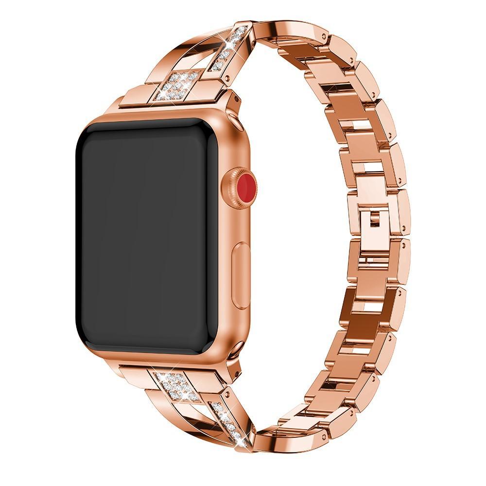 Crystal Bracelet Apple Watch 42/44 mm Rose Gold