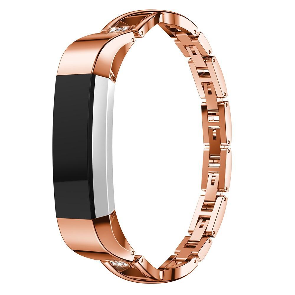 Crystal Bracelet Fitbit Alta/Alta HR Rose Gold