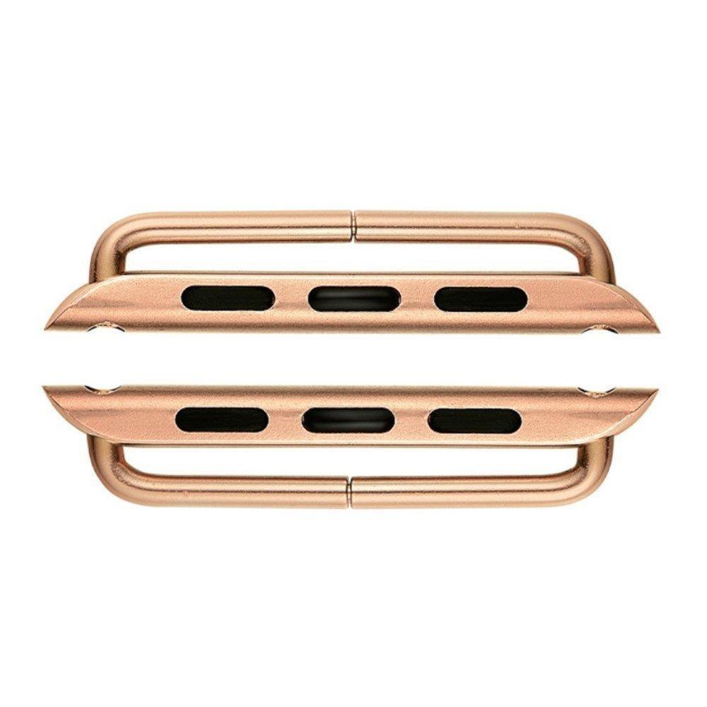 Fästen till Armband - Apple Watch 38/40 mm - roséguld