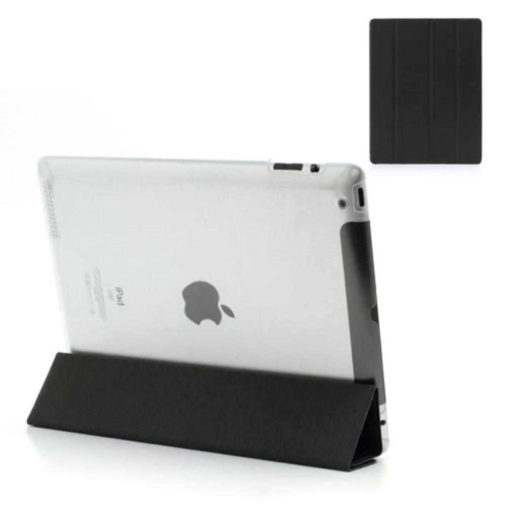 Fodral Tri-fold Apple iPad 2/3/4 svart