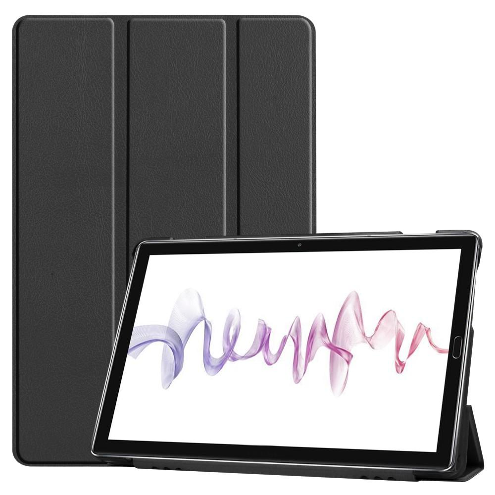 Fodral Tri-fold Huawei MediaPad M6 10 svart