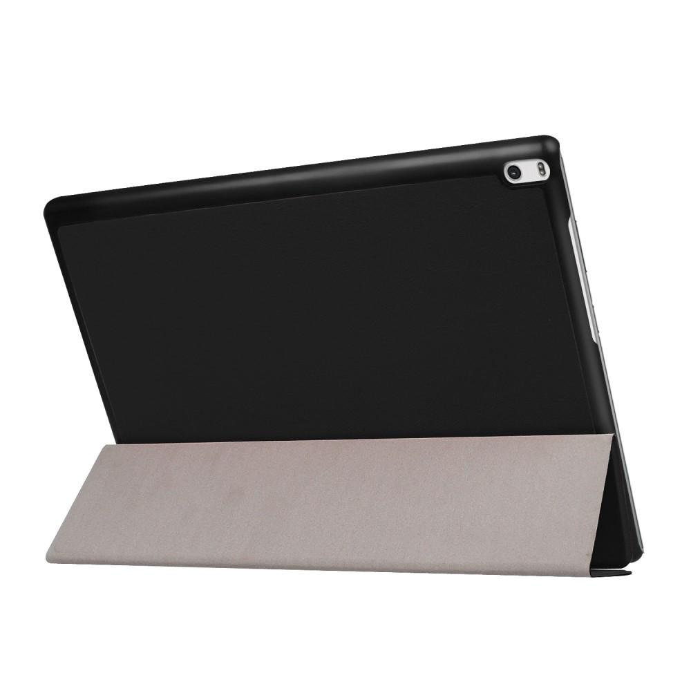Fodral Tri-fold Lenovo Tab 4 10 Plus svart