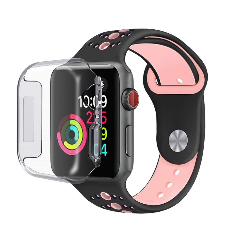 Full Protection Case Apple Watch 40mm Clear