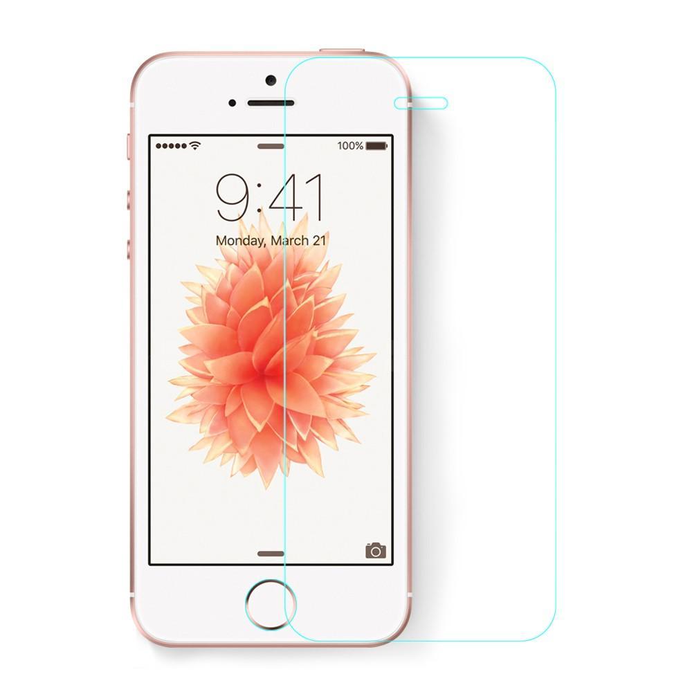 Härdat Glas 0.26mm Skärmskydd iPhone 5/5S/SE