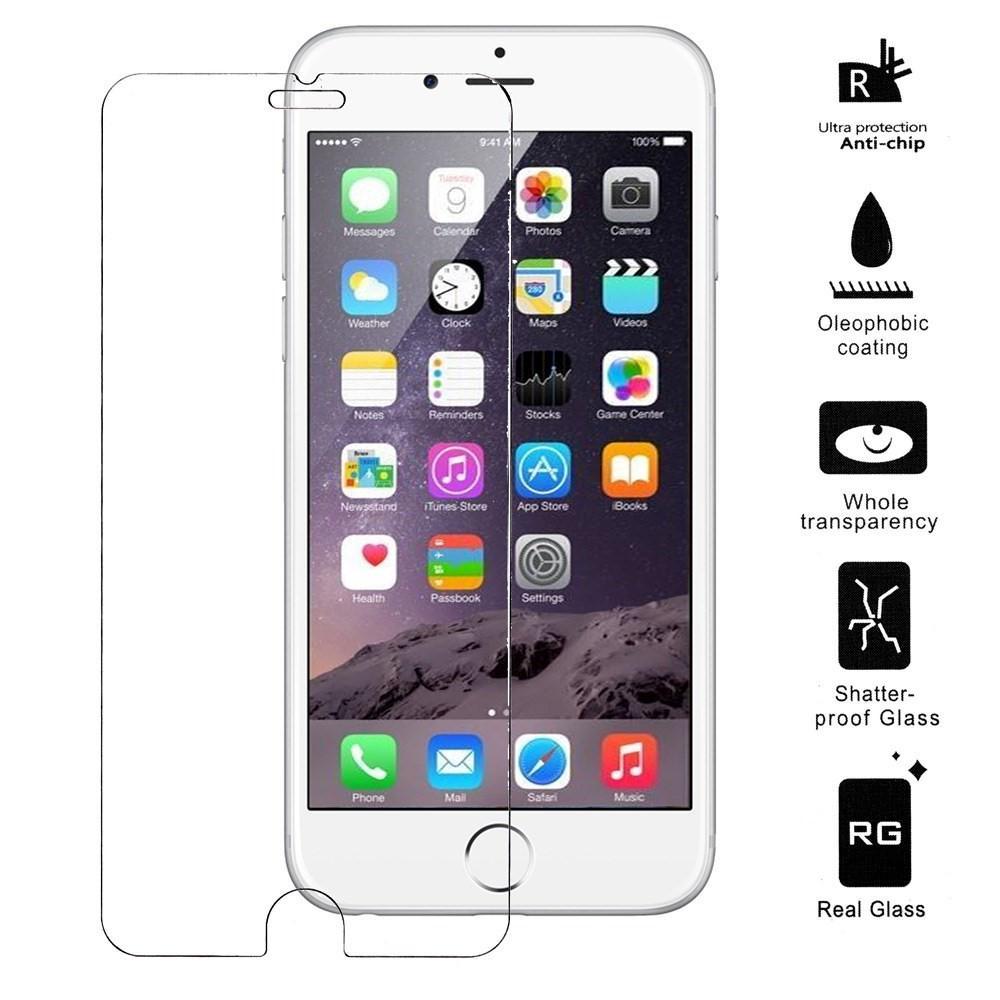 Härdat Glas Skärmskydd iPhone 6 Plus/6S Plus