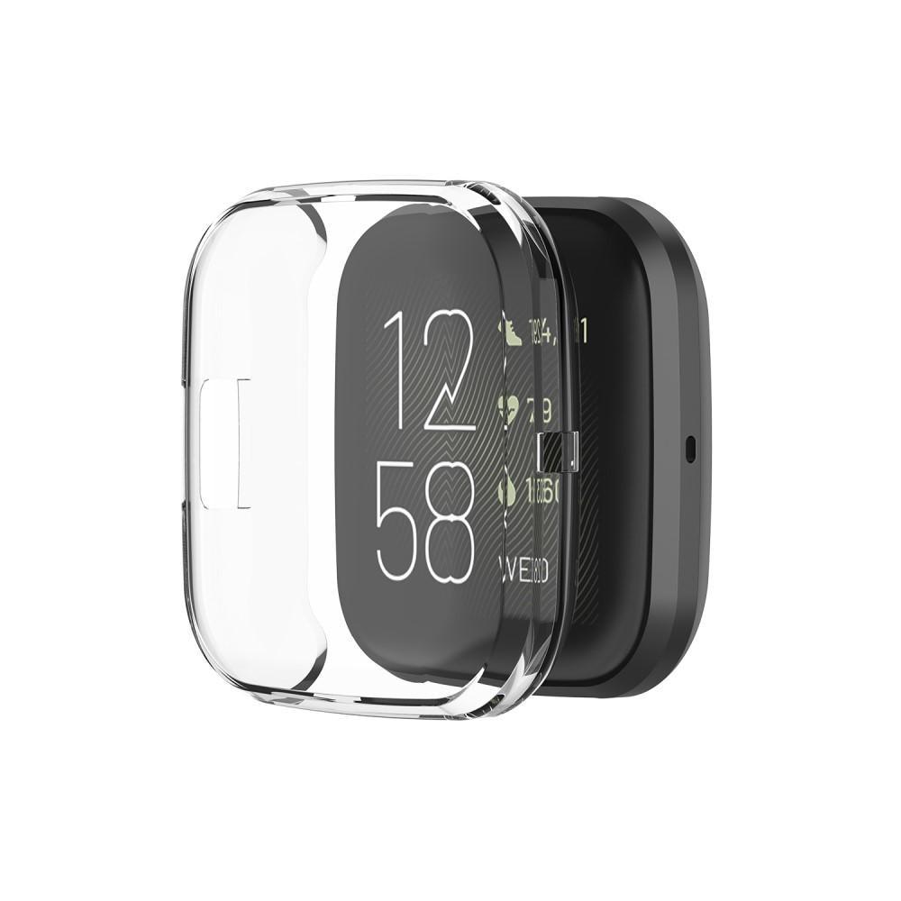 Heltäckande Skal Fitbit Versa 2 transparent