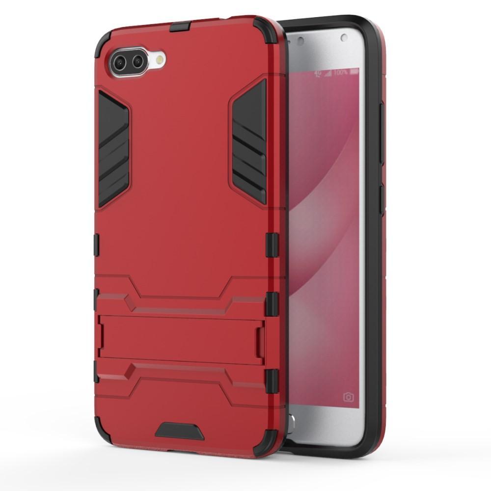 Hybridskal Tech Asus ZenFone 4 Max röd/svart