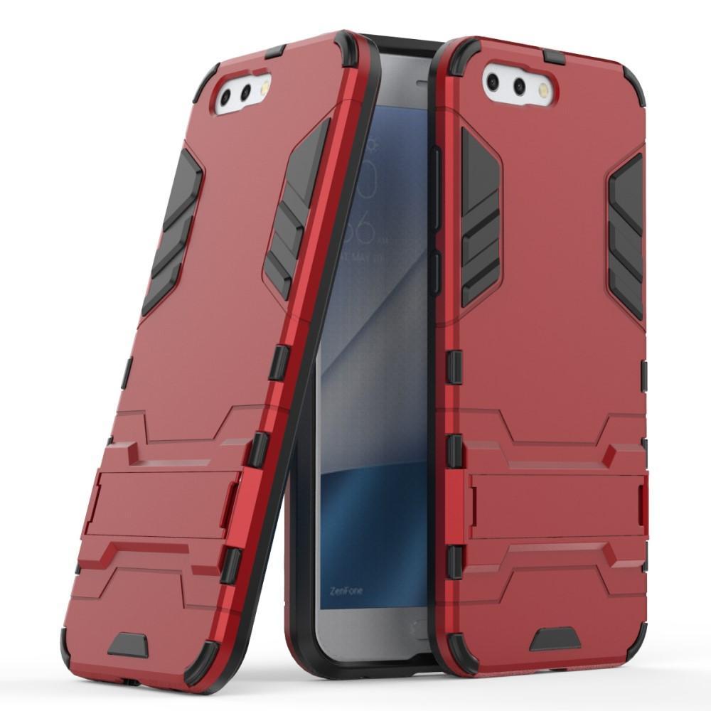 Hybridskal Tech Asus ZenFone 4 röd/svart