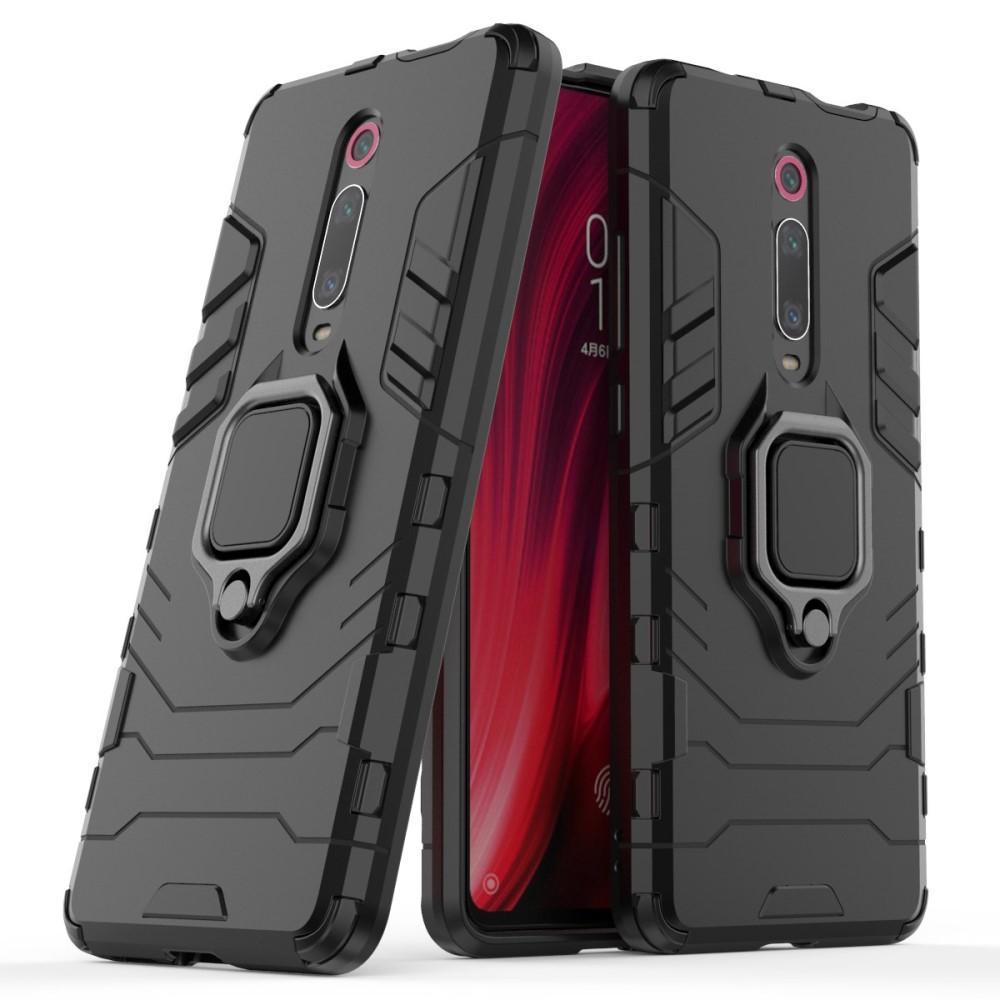 Hybridskal Tech Ring Xiaomi Mi 9T/9T Pro svart