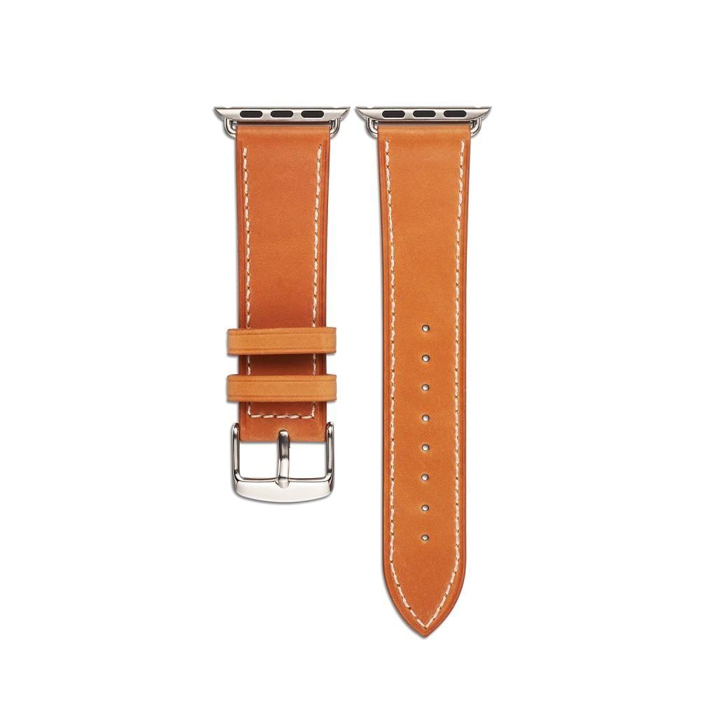 Läderarmband Apple Watch 42/44 mm cognac