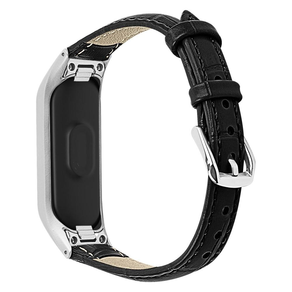 Läderarmband Samsung Galaxy Fit E svart