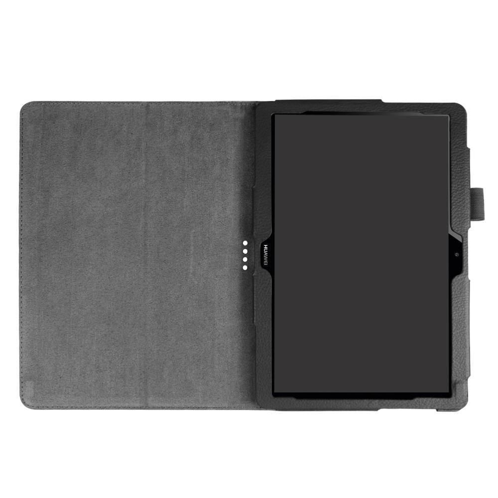Läderfodral Huawei Mediapad T3 10 svart